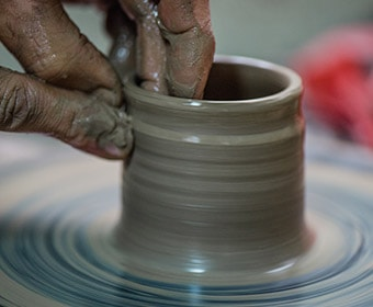 Pottery Studio Classes Page Style 1