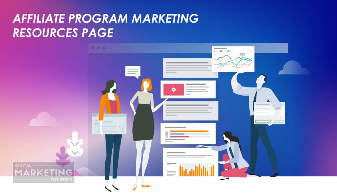 Affiliate Program Marketing Resources Page