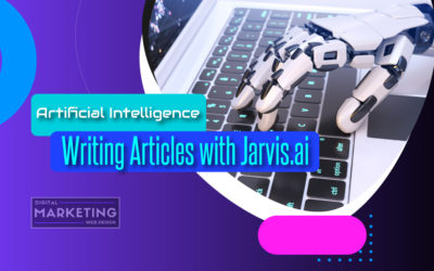 Artificial Intelligence Writing Articles with Jarvis.ai