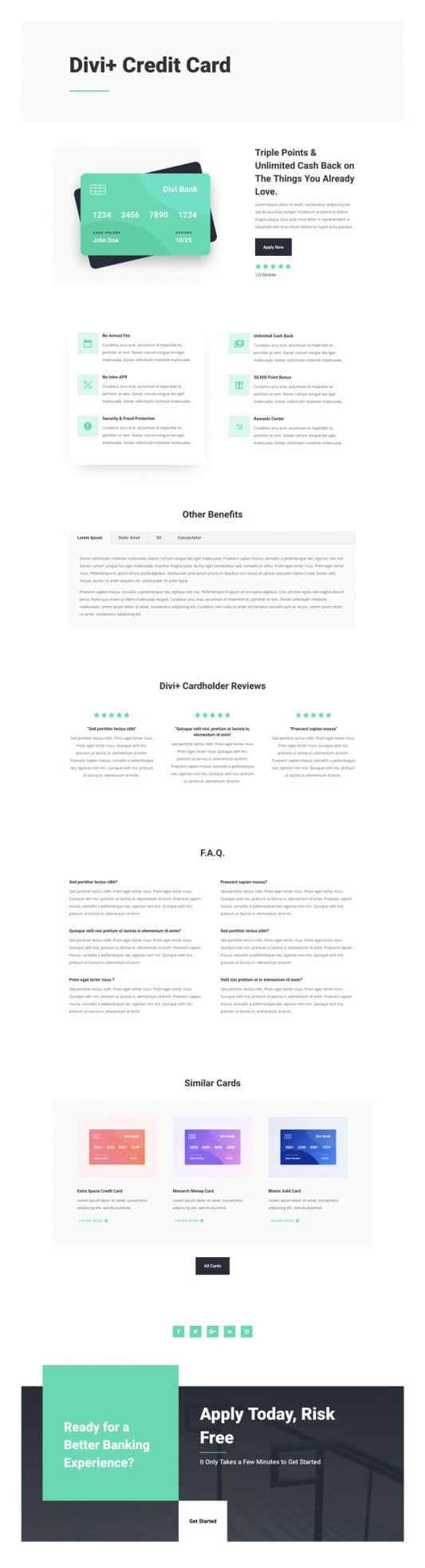 Bank Web Design 4