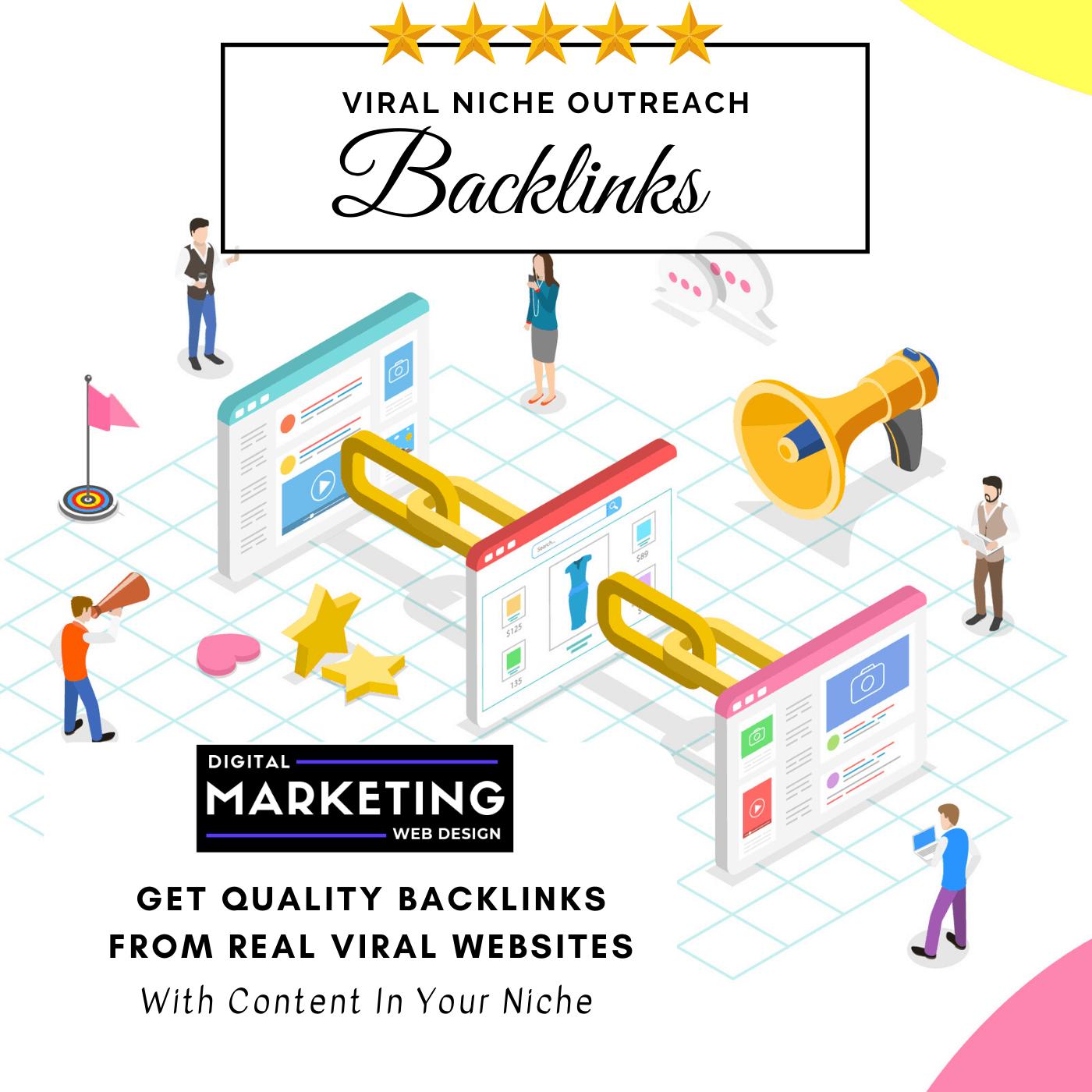 Buy Viral Niche Outreach Backlinks