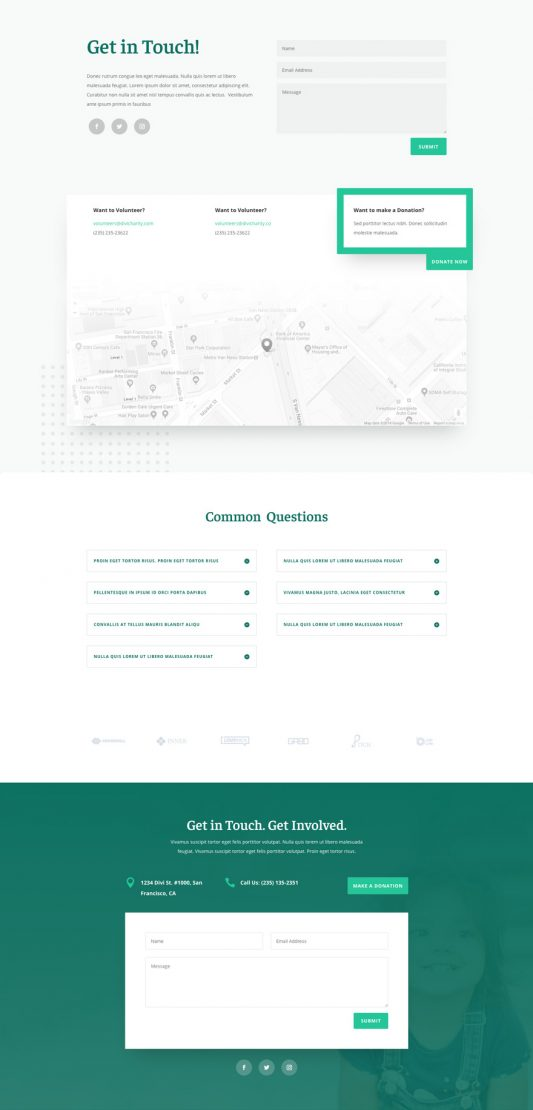 Charity Web Design 1