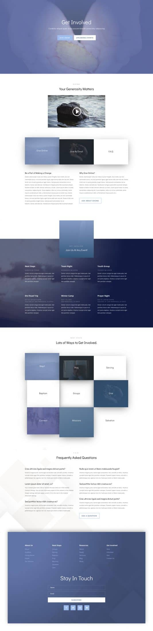 Church Web Design 2