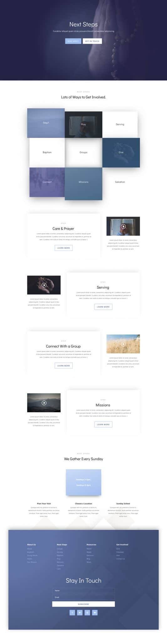 Church Web Design 5