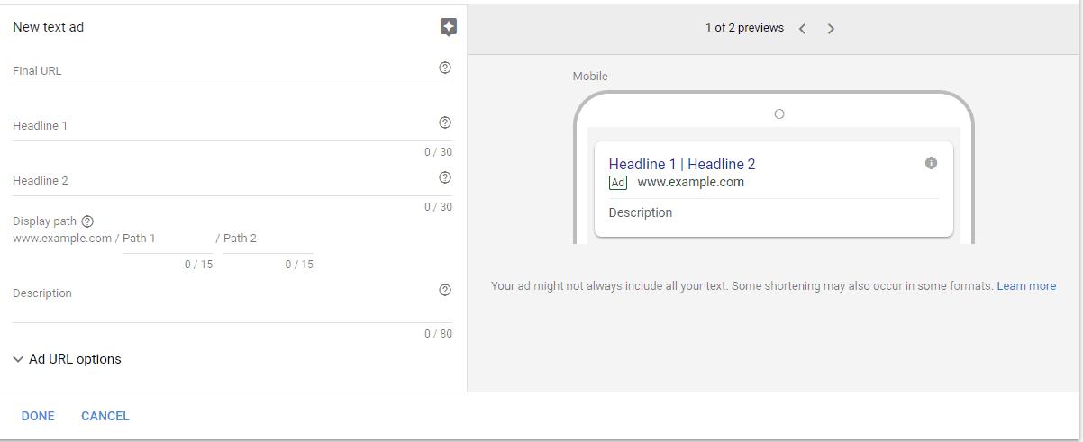 Click-Create-Ad