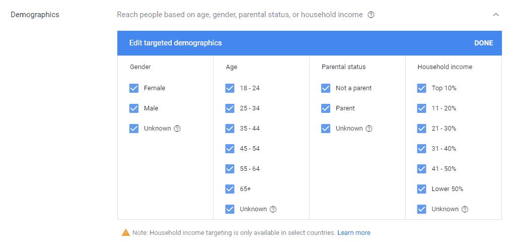 Display-Demographics