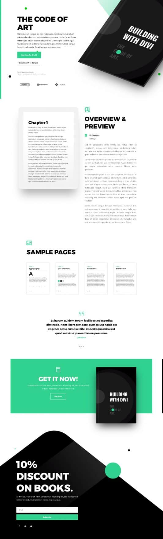 Ebook Product Page Style 1