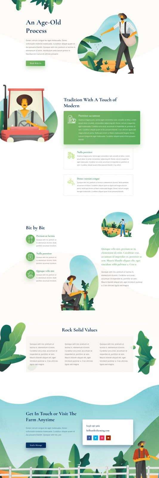 Farmer Process Page Style 1