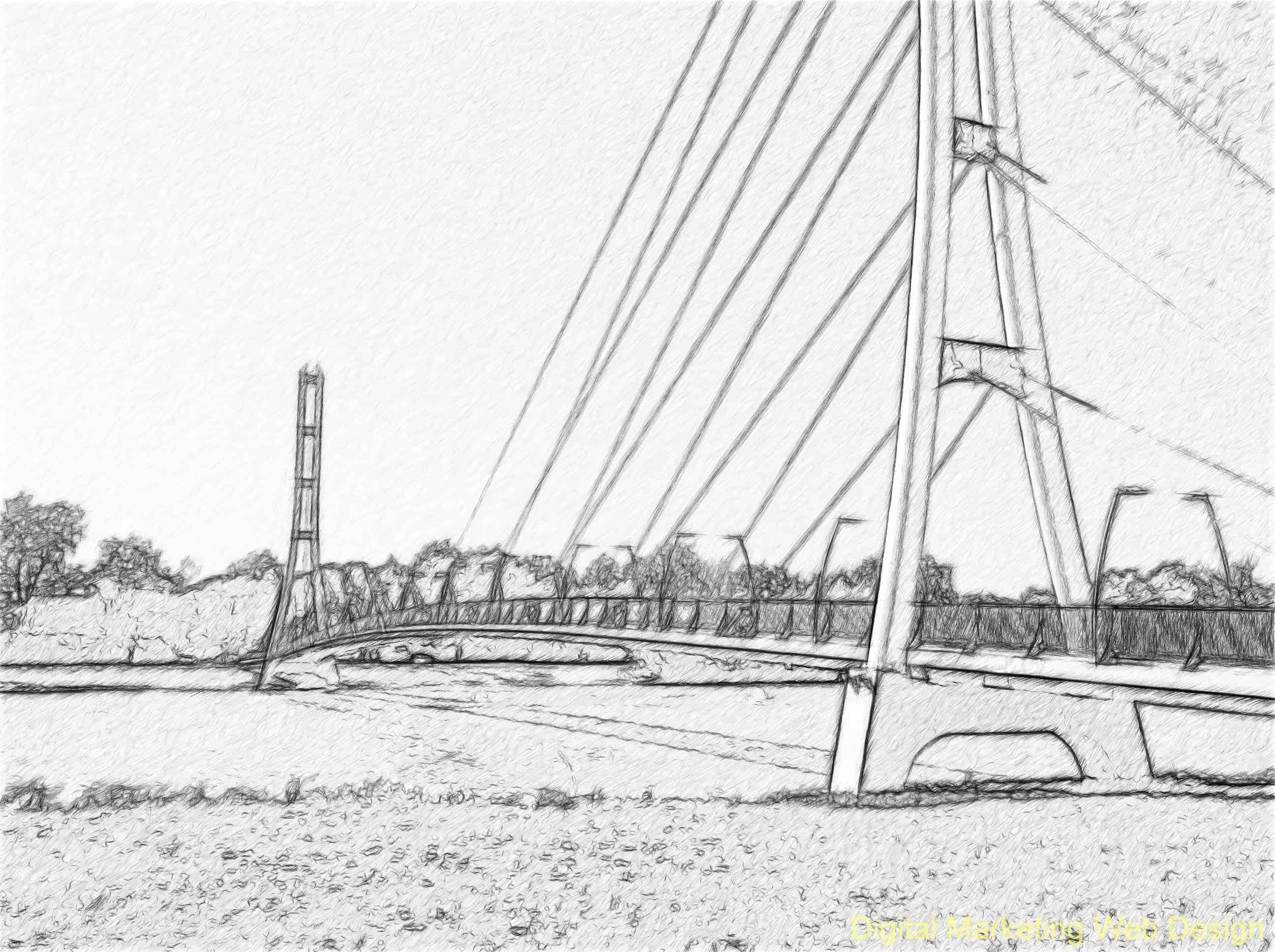 Fort Wayne Trail Bridge St. Joe River