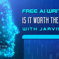 Free AI Writer: Is it worth the use with Jarvis.ai?