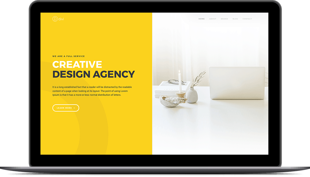Design Agency Case Study Page Style 12