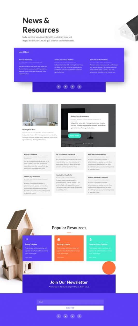 Mortgage Broker Web Design 2