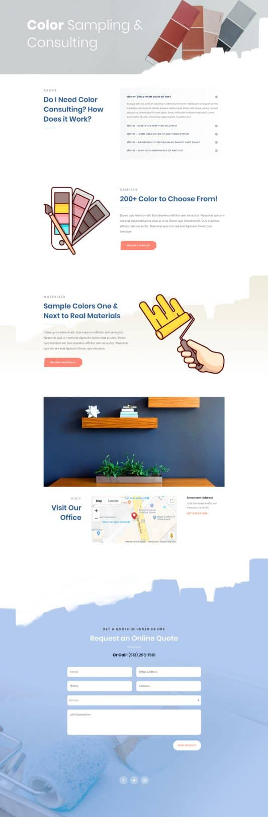 Painting Service Service Page Style 1