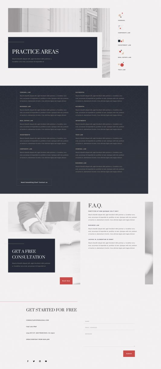 Paralegal Web Design 6