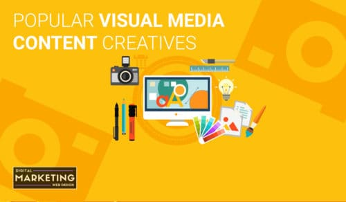 Popular Visual Media Content Creatives - Getting Started With Content Marketing