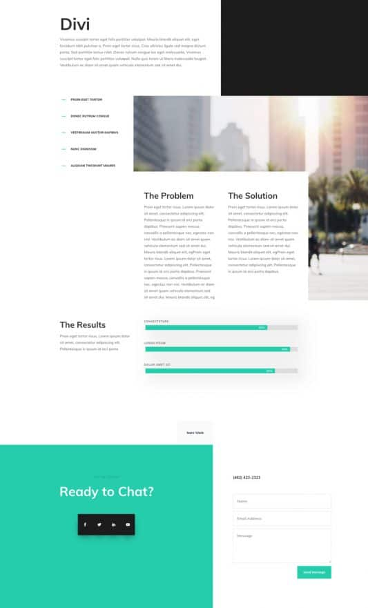 Professional CV Web Design 8