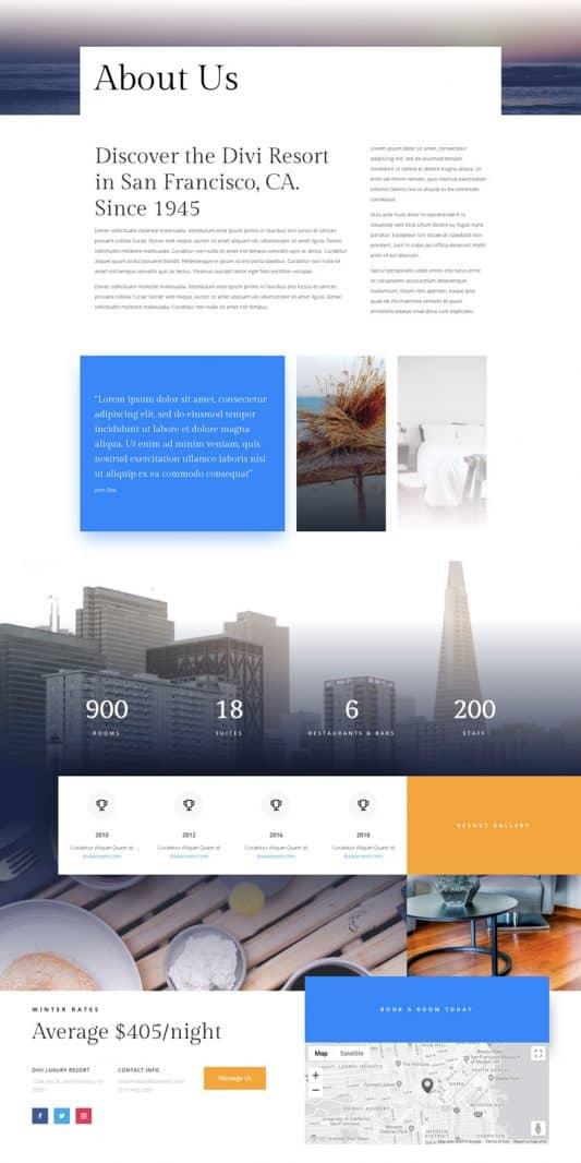 Resort Web Design 1