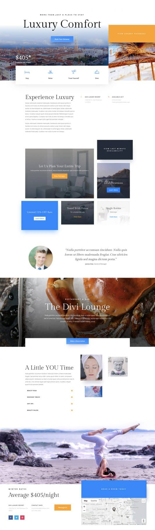 Resort Web Design 4