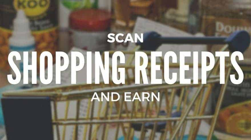 Scan Shopping Receipts and Earn