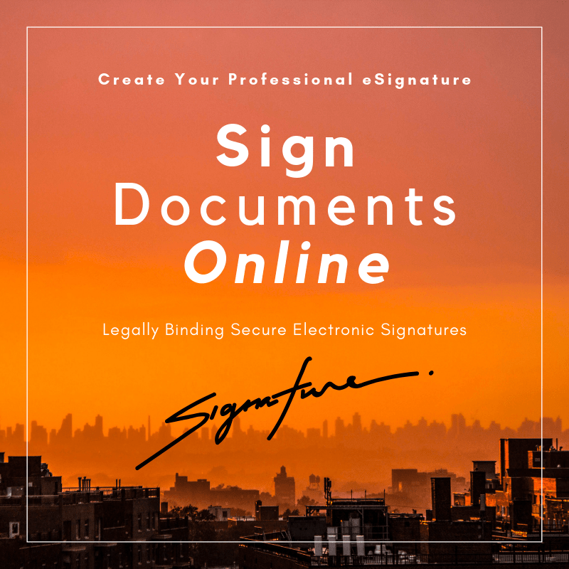 Sign Documents Online - Reseller Account
