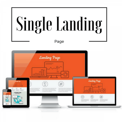 Single Landing Page - A Customized Single Page Designed To Achieve Your Goals