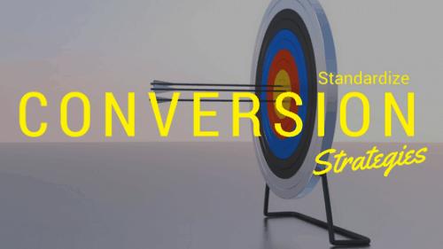 Standardize Conversion Events