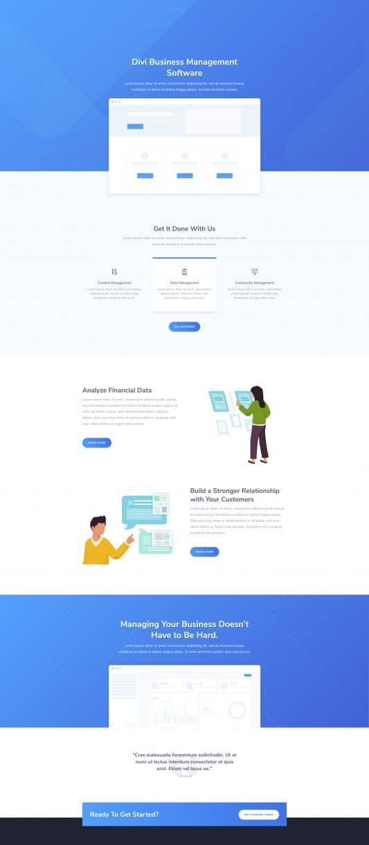 The SaaS Company Page Style: Homepage Design 1