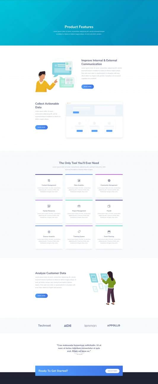 SaaS Company Web Design 5