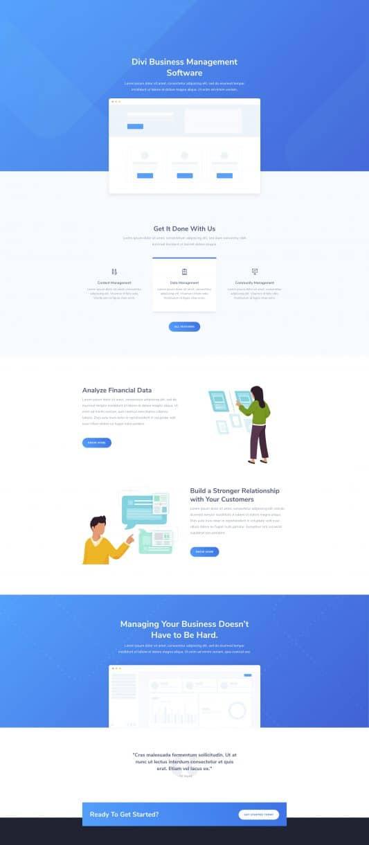 SaaS Company Web Design 6
