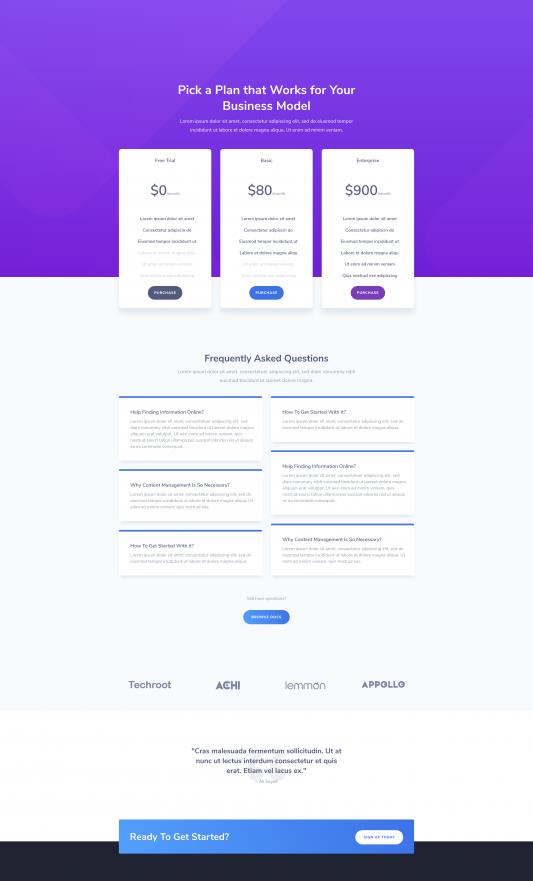 SaaS Company Web Design 7