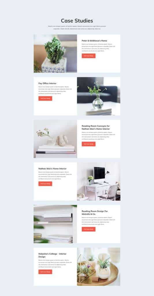 Interior Design Company Web Design 6