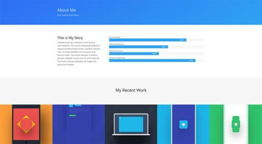 Simple Web Design 1