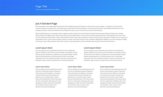 Simple Web Design 7