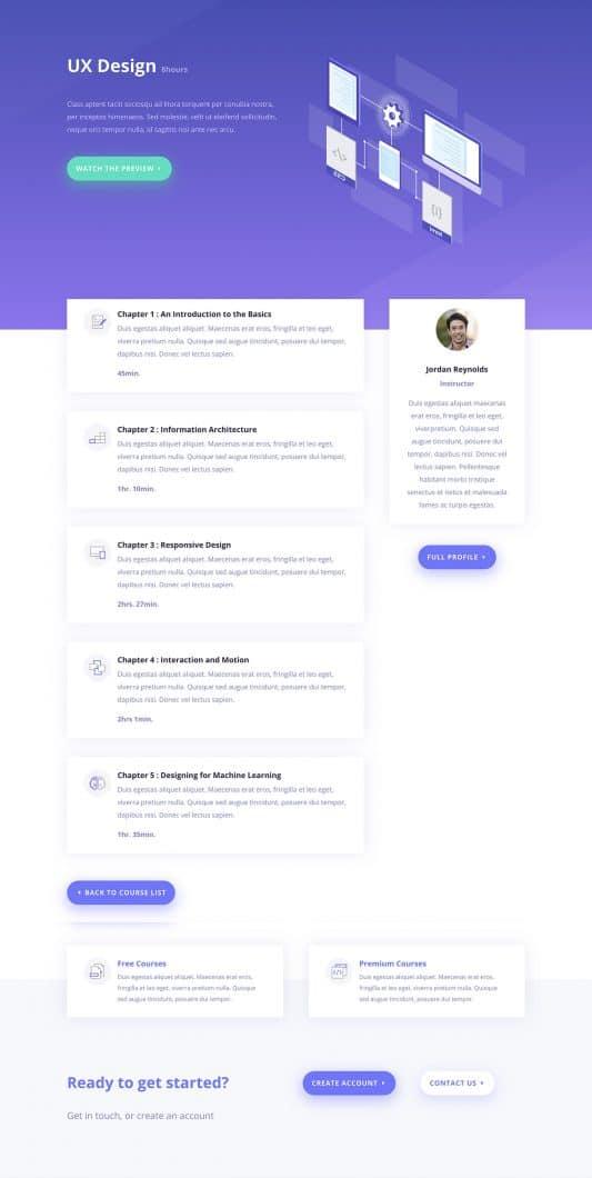 Learning Management (LMS) Web Design 4