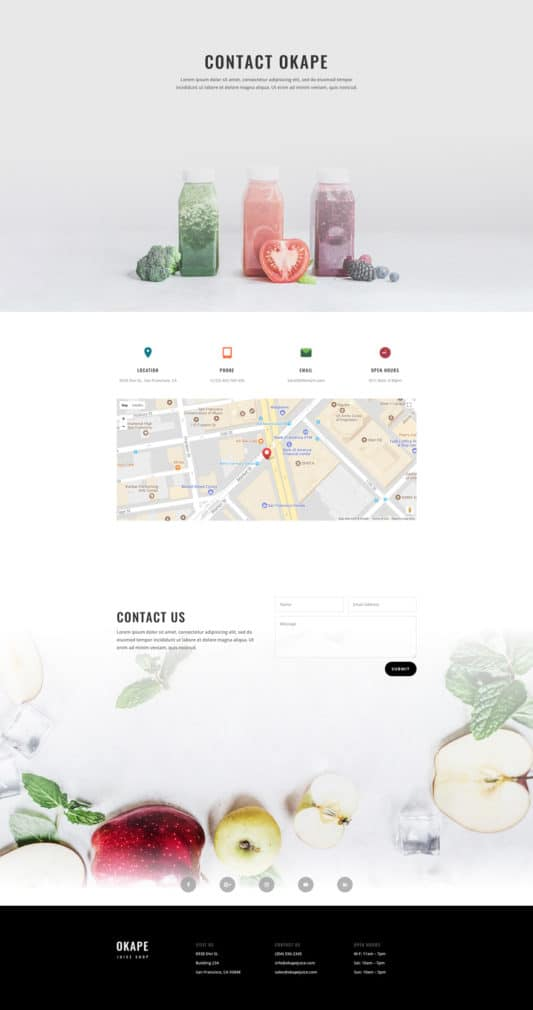 Juice Shop Web Design 3