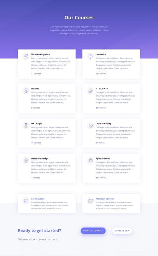 Learning Management (LMS) Web Design 5