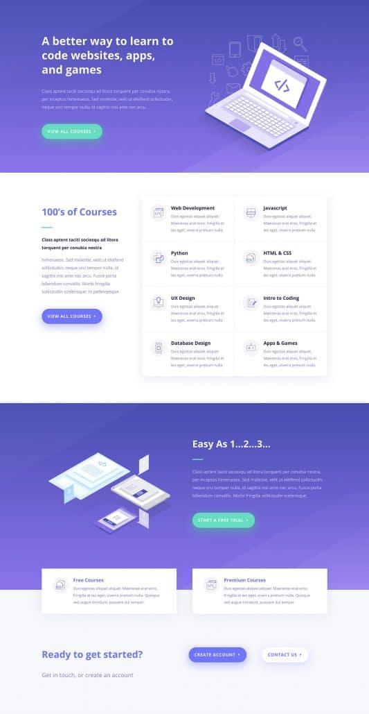 Learning Management (LMS) Web Design 6