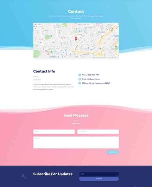 Babysitter Web Design 3