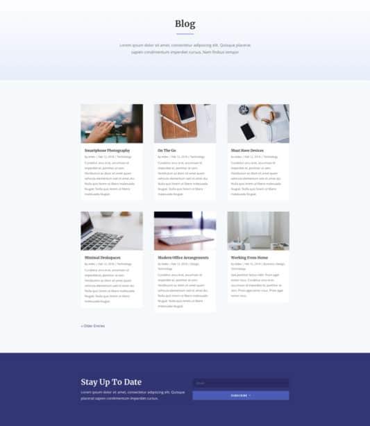 Design Conference Web Design 1