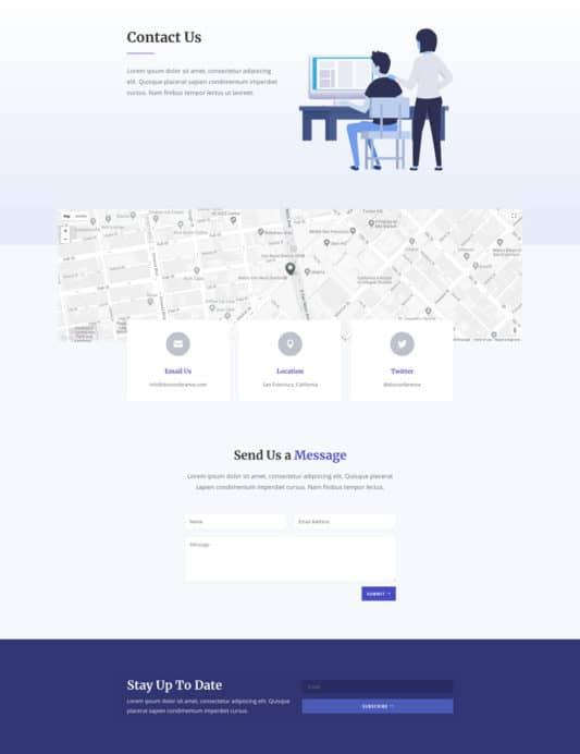 Design Conference Web Design 2