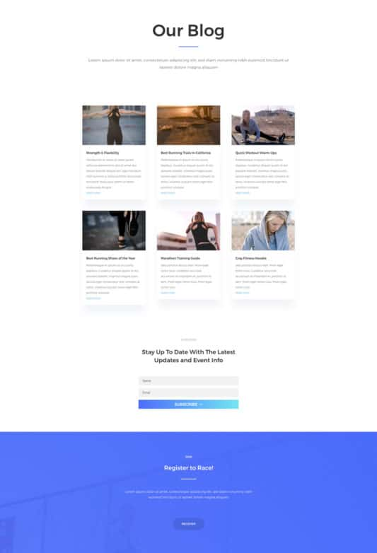 Marathon Web Design 3