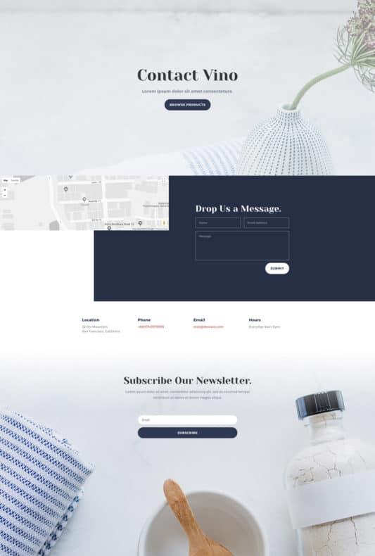 Cosmetics Shop Web Design 3