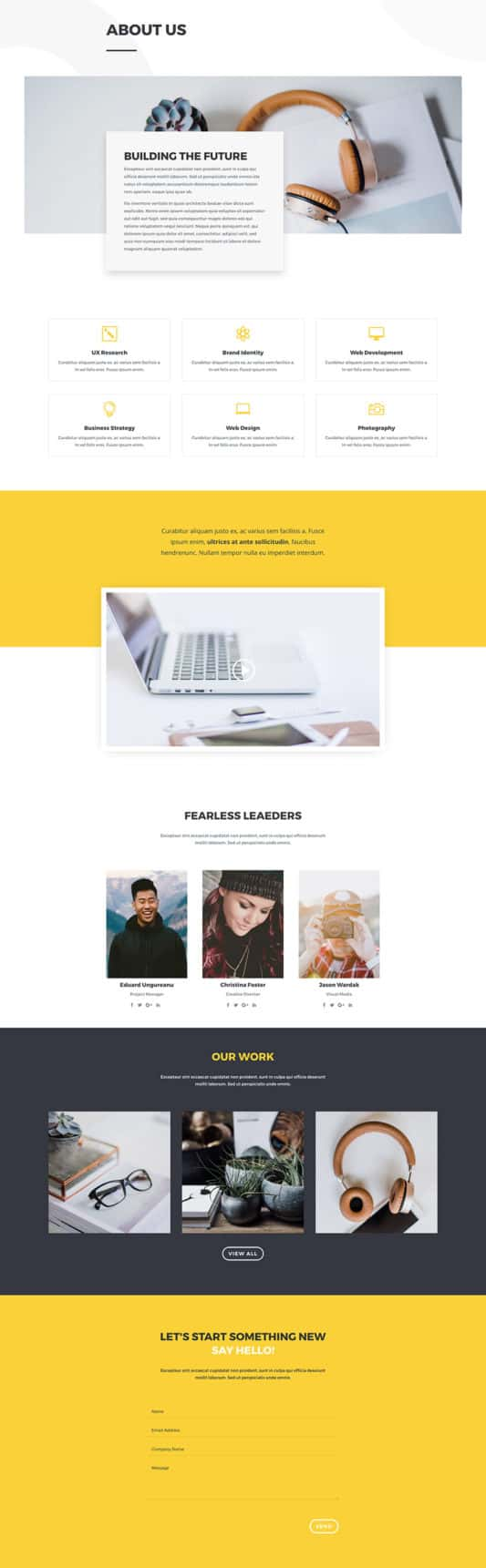 Design Agency Web Design 1