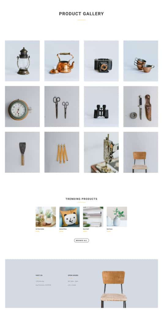 Boutique Web Design 4