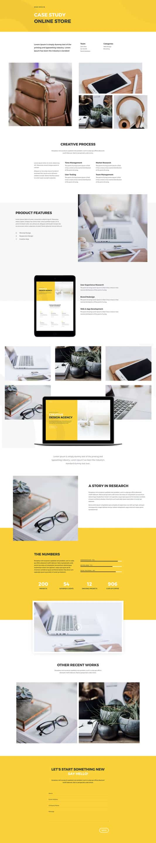 Design Agency Web Design 3