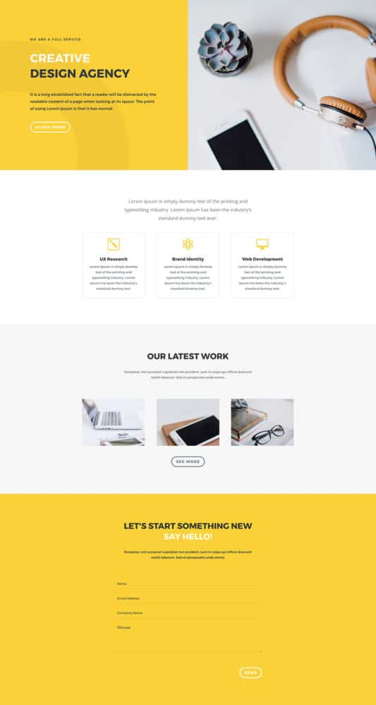 Design Agency Web Design 5