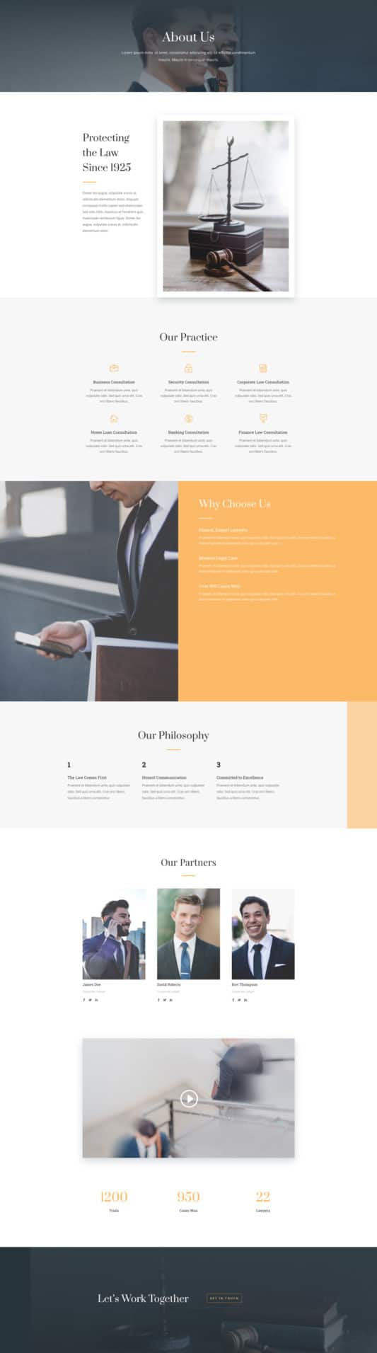 Law Firm Web Design 1