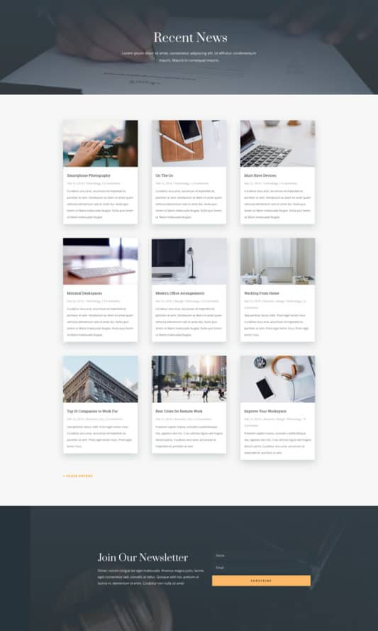 Law Firm Web Design 2