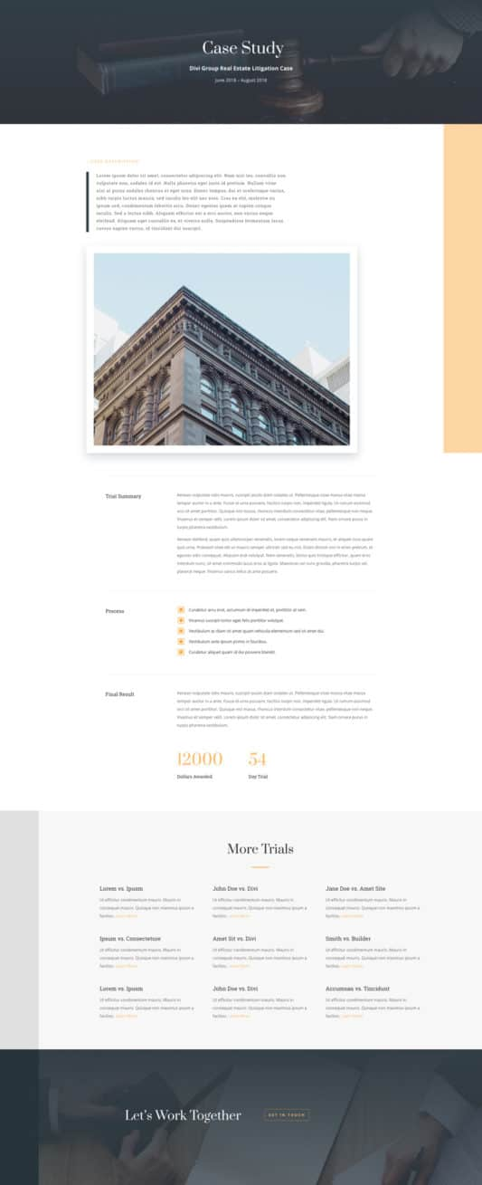 Law Firm Web Design 3