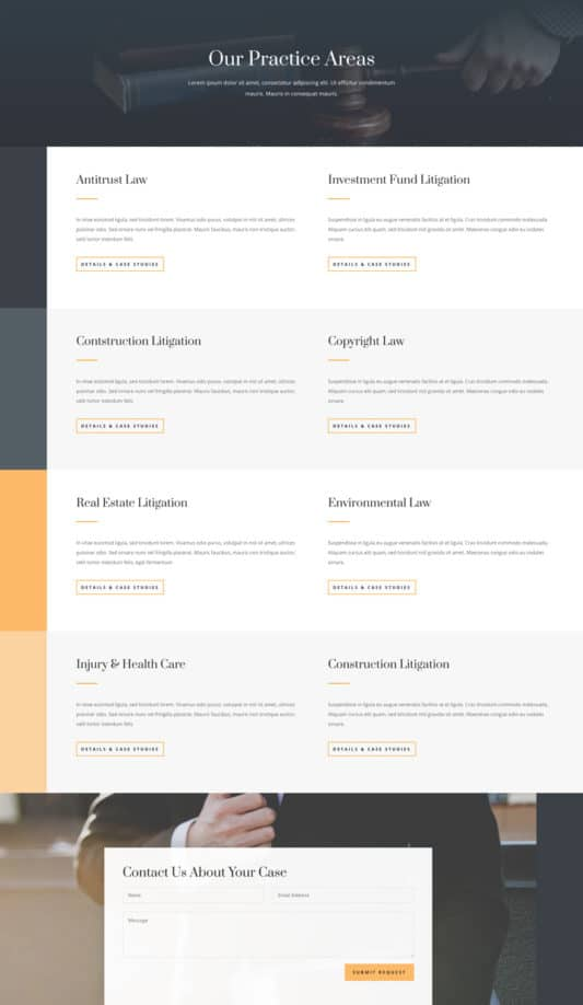 Law Firm Web Design 7